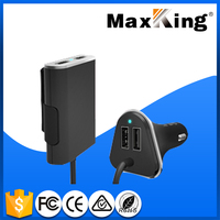 Auto parts new arrival 1.8 m extension line OEM 4 port usb travel charger under Maxking brand