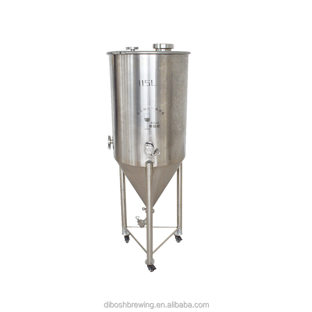 304 Stainless Steel 115L Beer Conical Fermenter