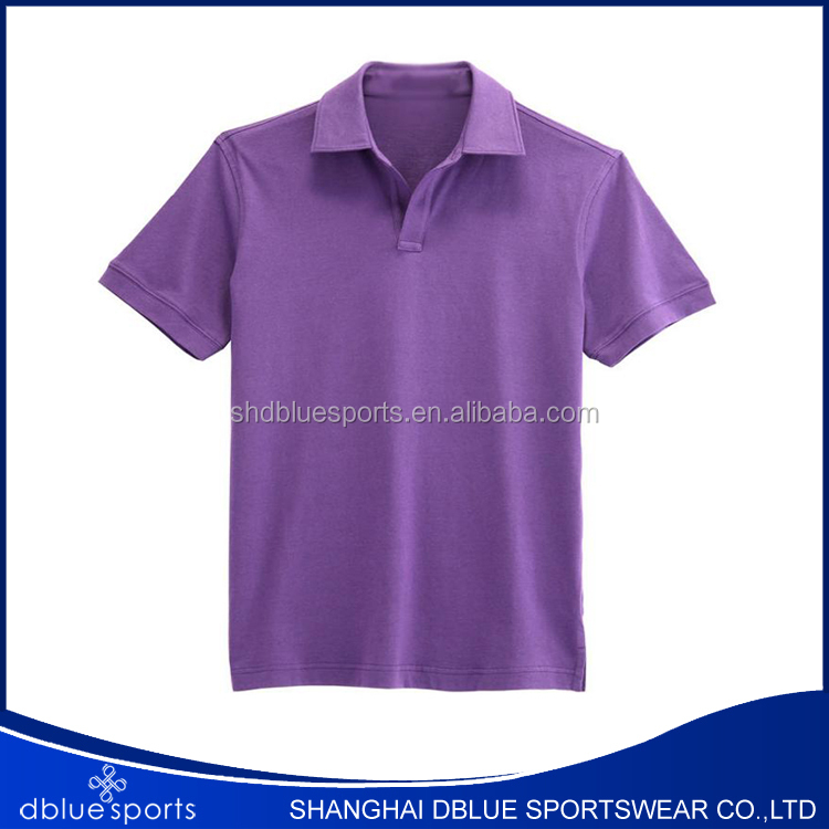 Good quality custom team colors manufacturer from China no button polo shirt