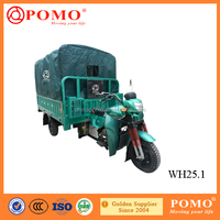 Popular Motorized Water-Proof Gasoline Cargo 250CC Tricycle In Three Wheel