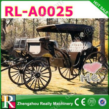 Romantic wedding horse carriage / cinderella horse carriage for sale