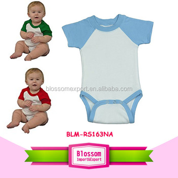 Baby clothes climb carter's wholesale price cotton multicolored baby romper babygrows solid summer raglan short sleeve jumper