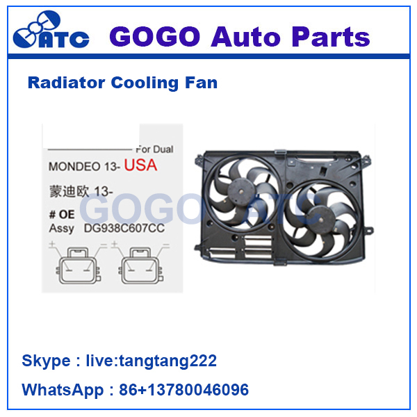 12v DC CAR Radiator A/C Cooling Fan Motor for MONDEO 13- OEM DG938C607CC