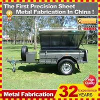 2014 good sell quality motorcycle camping trailers,China direct factory
