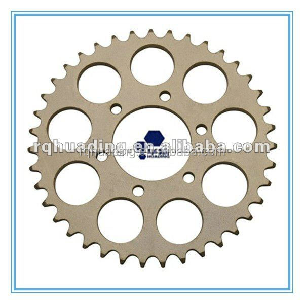 dx100 motorcycle sprockets wheel;rear sprockets for 100cc motorcycle