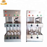 Pizza forming and base making machine stainless steel automatic cone pizza making machine