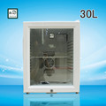 2016 mini fridge cooler 30L refigerator freezer fridge,mini bar fridge with glass door