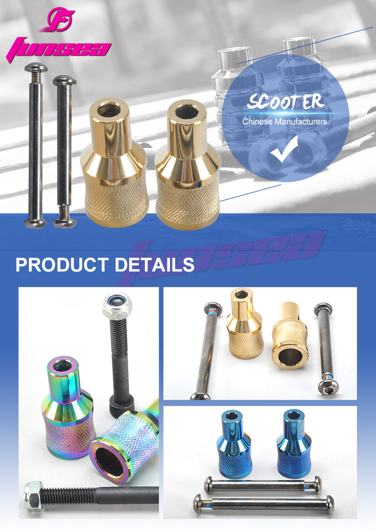 Funsea extreme sport bicycle manufacturer wholesale cheap price freestyle scooter parts stunt scooter peg RX-FSP-03