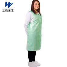 Transparent washable pvc disposable plastic apron water-repellent and smudge-proof