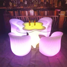 led bar table tables and chairs set loft style vintage furniture