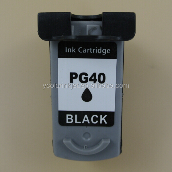 1 piece for Canon PG-40 Black Compatible Ink Cartridge for Canon Pixma MP140 MP150 MP160 MP180 MP190 MP210 MP220 MP450 MP470
