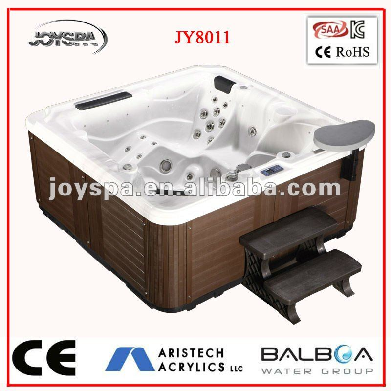 Balboa system underground Aristech acrylic outdoor swimming pool