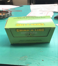 Ching A Ling extract powder male sex capsule packaging Cards/boxes enhanced penis pills packaging with hang hole