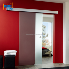 Hotel barn door hardware sliding door with soft close