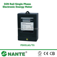 Front Panel Mounted Single Phase Electronic Energy Meter