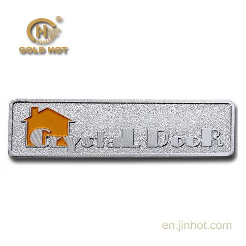 New Design Metal Label For Furniture With Adhesive Back Or Legs Fixing With Metal Material Buy
