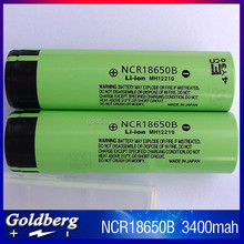 18650 BATTERY 18650 ltihium battery NCR18650B 3400mah battery cell