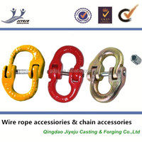 Connecting With Chain Or Shackle Lifting