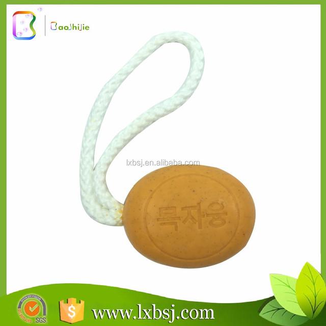 160g natural korea volcanic mud soap a rope, soap making supplies