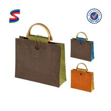 Jute Wine Tote Bag Jute Jewelry Pouch Jute Bag Wholesale