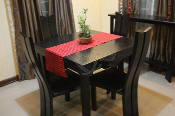 Irany dining set made from mahogany wood buy wooden for Comedores homecenter