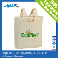 High Quality Wholesale Recyclable Standard Size Cotton Tote Bag