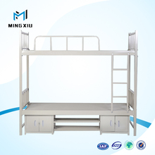 China supplier double bunk beds for adults / strong metal bunk beds