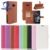 Litchi Leather wallet flip pouch Cover Case For Zte Blade L110 Card Slot Magnetic Leather