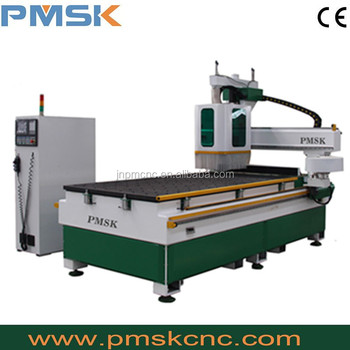 school furniture making machinery/round ATC wood cnc router engraving cutting machine price 1325