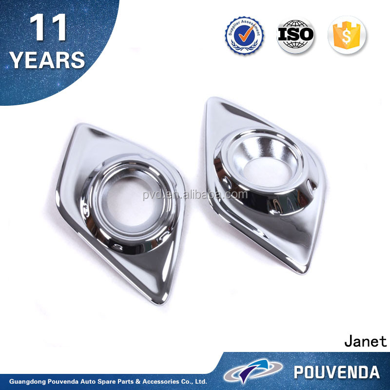 2016 new accessories Front Fog light Cover Fog lamp Cover Exterior auto spare car parts For Toyota Hilux REVO 15+ From Pouvenda