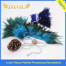 Wholesale Dyed Rooster Feather Trimming In Cheap