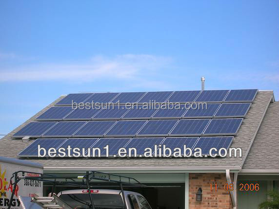 5000w High quality off grid auto switch 185w solar modules
