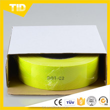 Fluorescent yellow green reflective tape DOT-C2