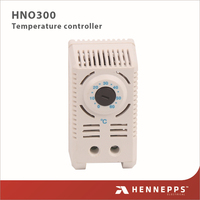 HENNEPPS Low Power Fan Smart Adjustable Mechanical Small Type Thermostat