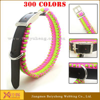 paracord retractable dog leash collar wholesale