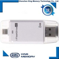 wholesale 8gb 16gb 32gb 64gb OTG USB usb memory for iphone usb stick memory for iphone