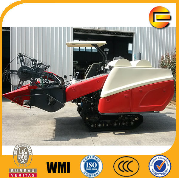 dry bean harvester grain combine harvesting machinery model 4LZ-2.3