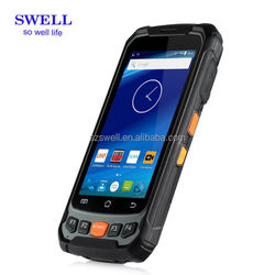 4.7pullgadas Android rugged phone 4g lte built in vhf uhf rfid portal reader smartphone no brand smart phone