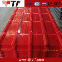 Alibaba website Hot selling sheet metal roofing used