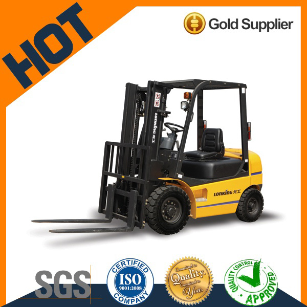 China gold supplier Lonking mini hydraulic forklift 2 ton lift capacity