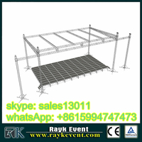 circle / ring / round truss for led lights / stage equipment / concert stage truss for led