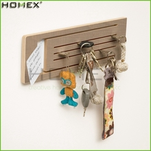 Wall Mount Wooden Storage Shelf for Letter and Key/Homex_BSCI