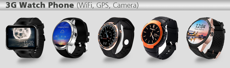 HD Camera WiFi GPS Android 3G 4G Watch phone