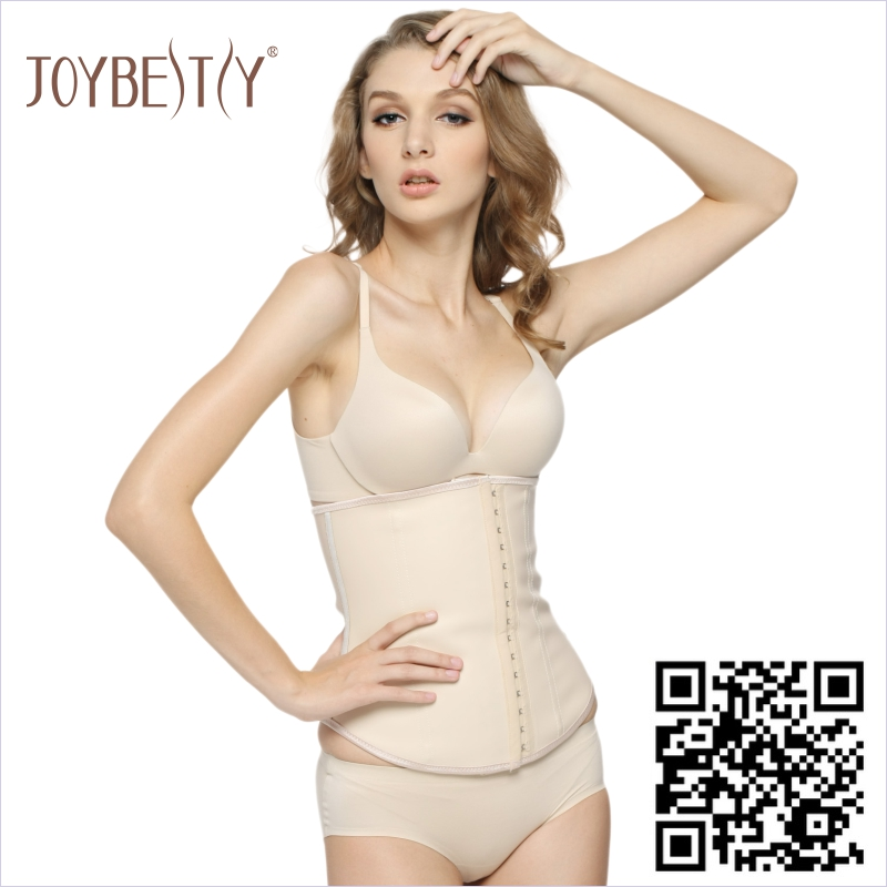 JoyBestsy Flexiboning Latex Waist Slimming Rubber Girdle