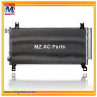 Ac car condenser,Auto ac condenser for cars TOYOTA YARIS