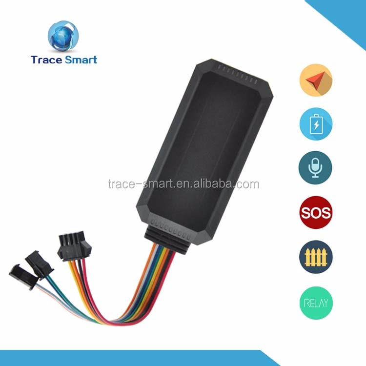 Support acc detection smart tracker car gps tracker design for truck fleet management and fuel detection