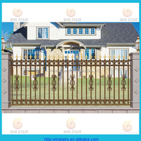 Strong Design Aluminum Garden Border Fence