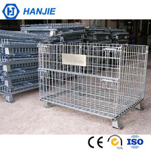 Industrial wire mesh welding containers stackable steel security cage