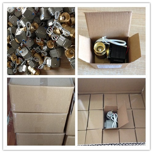 IP67 4-20mA Stainless steel SS316 modulating electric motorized proportionate control valve