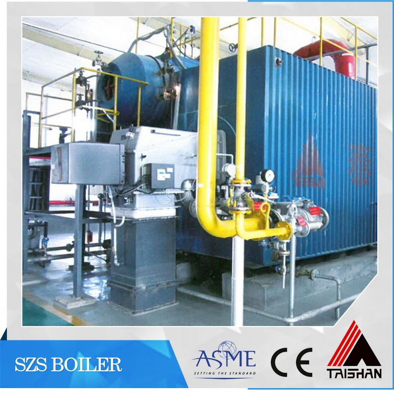 For Pakistan Market Compact Structure Super Heated Oil/Gas Fired Steam Boiler